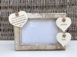 Shabby personalised Chic Photo Frame Auntie Aunty Great Aunt Any Name Etc - 253964472086